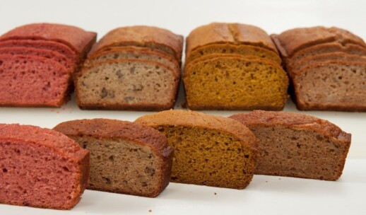 Four Amazing Quick Breads