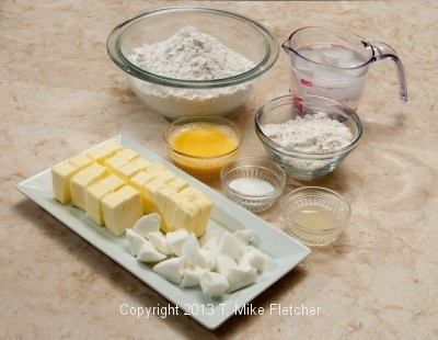 Ingredients for crust
