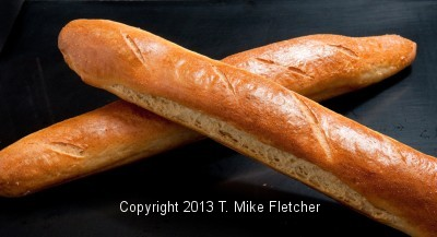 Finished Baguettes