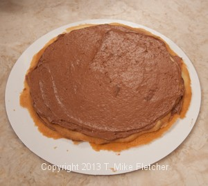 Mousse on 2nd layer spread