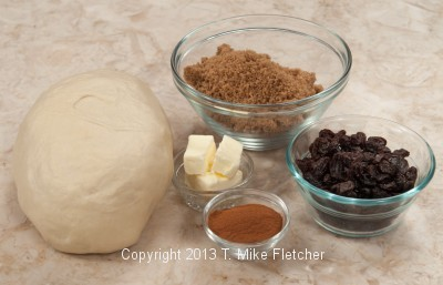 Cinnamon Bread Ingredients