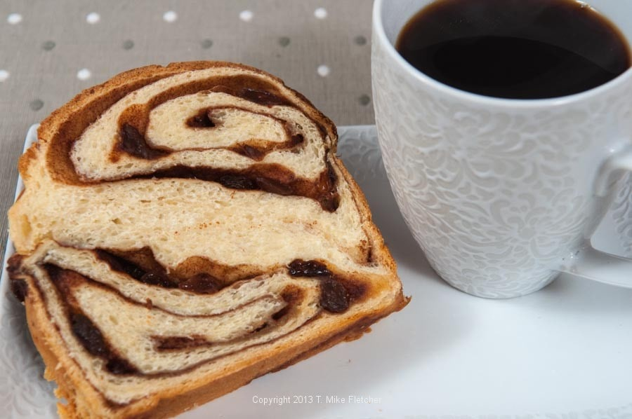 This is truly a Cinnamon Raisin Bread to be proud of. Based on my ...