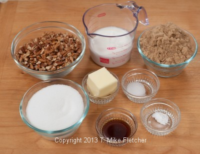Praline Ingredients