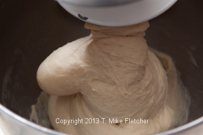Kneading in mixer 2