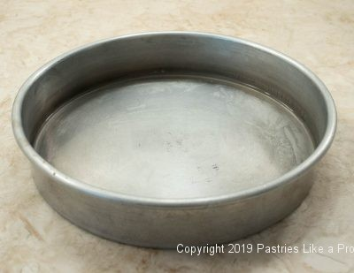 Water bath pan for Ultimate Chocolate Fudge Cake