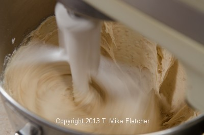 Frosting beating 2