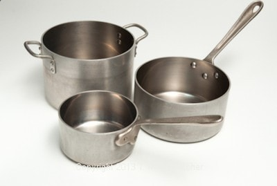 Assorted Saucepans for Baking Equipment and Utensils