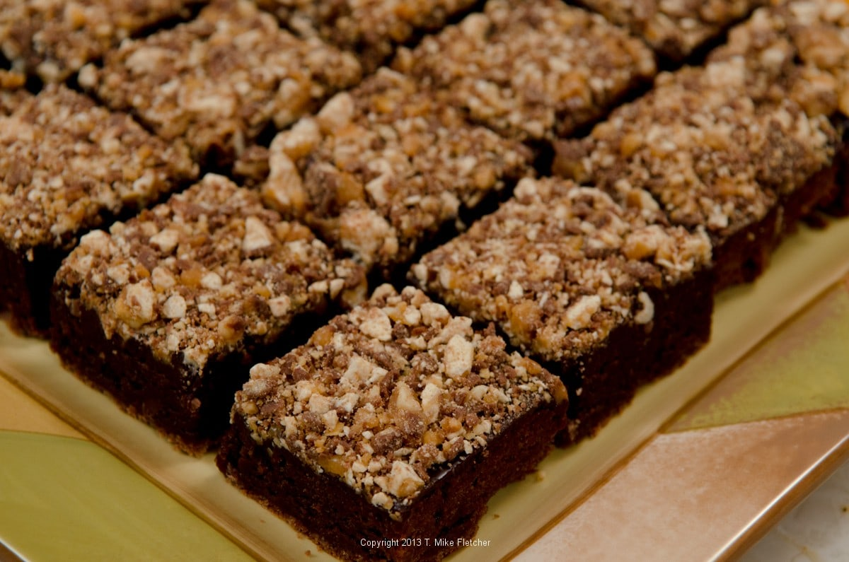 Snickers Brownies - Pastries Like a Pro
