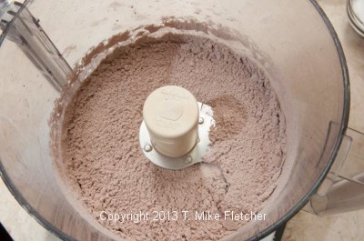 Flour and Cocoa mixed