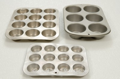 Muffin tins for Baking Equipment and Utensils