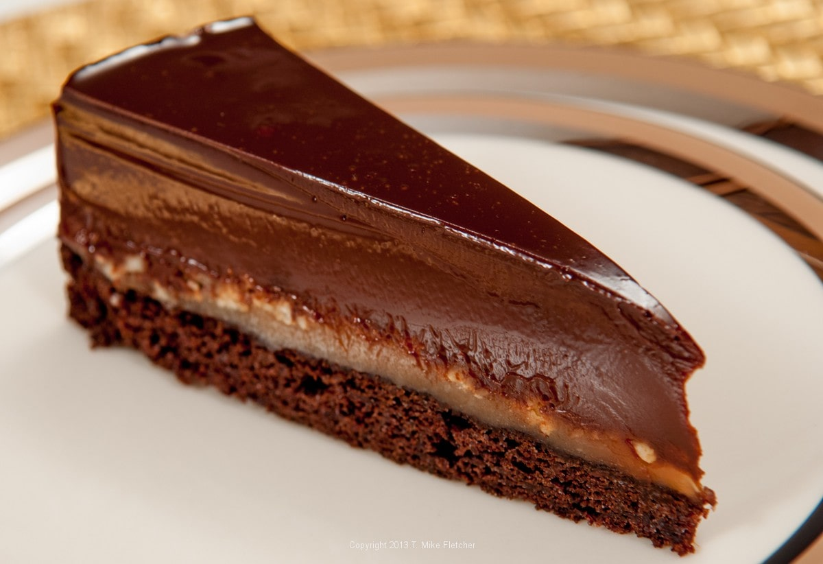 Decadent Chocolate Torte Recipe — Dishmaps