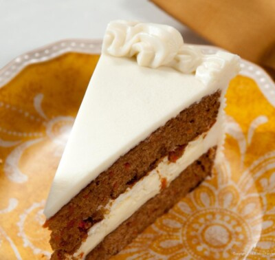 Carrot Cake Cheesecake slice