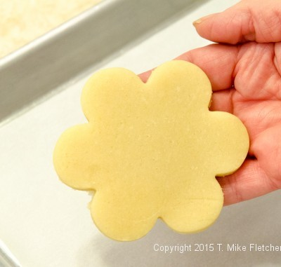 Cutting out cookie 5