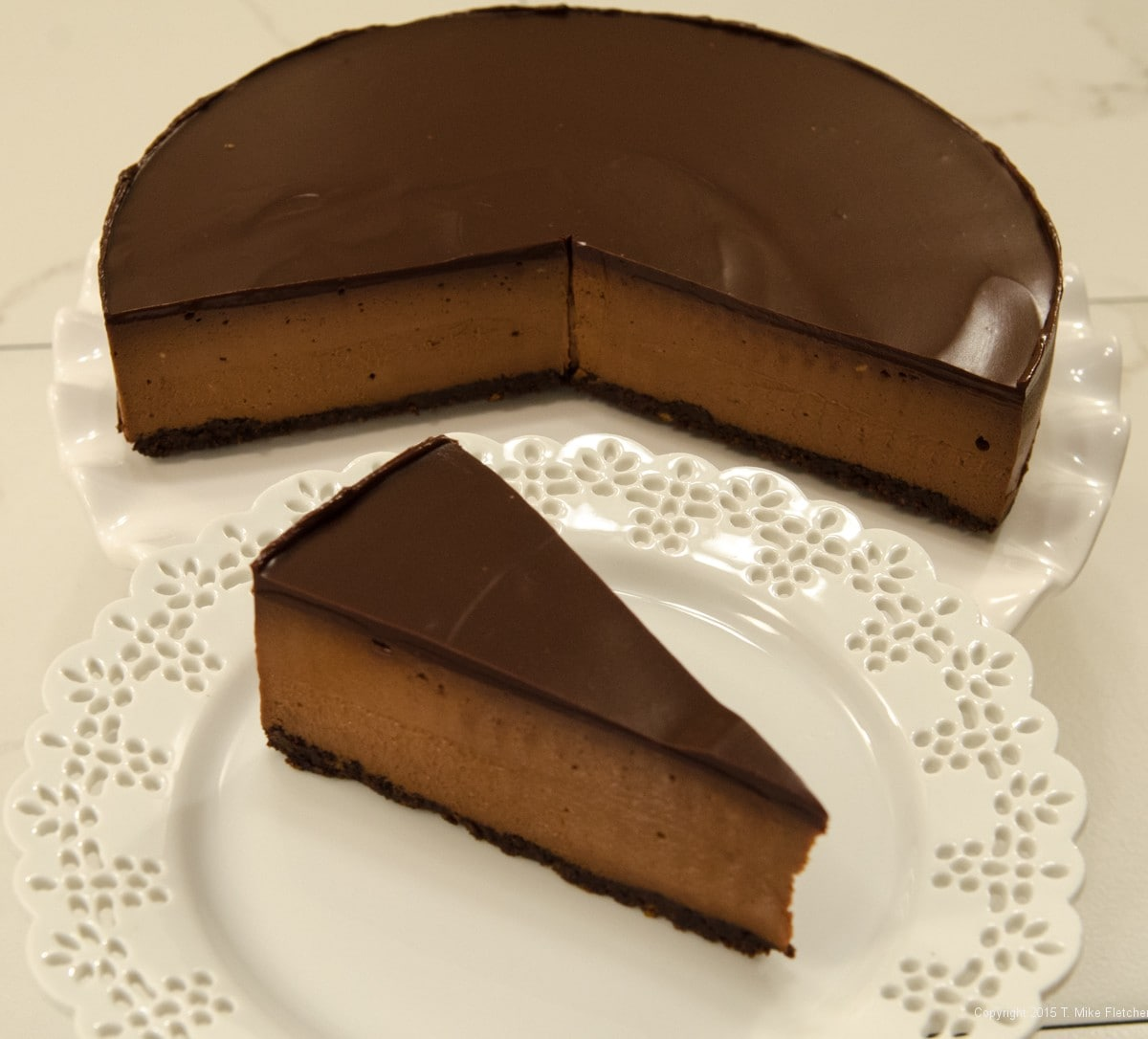 Triple Chocolate Cheesecake - Pastries Like a Pro