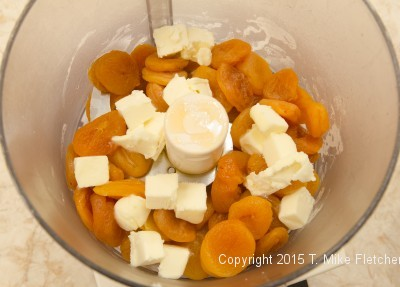 Butter with apricots for Viennese Apricot Torte