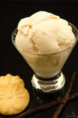 Vanilla Bean Cheesecake Ice Cream