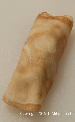 Crepe filled in rolled for Seafood Crepes
