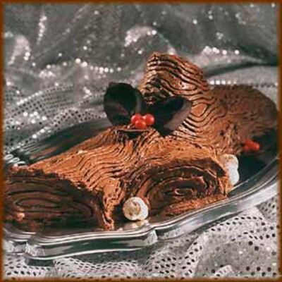 The spectacular Buche de Noel