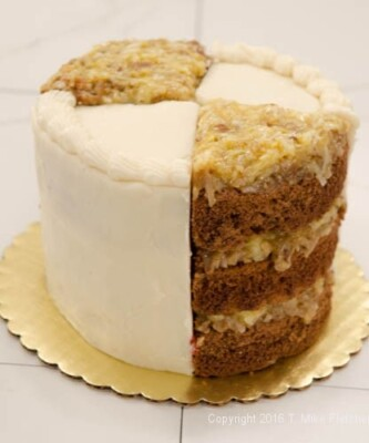 Whole cake for One Batter Two Classic Cakes