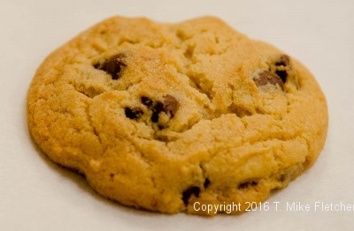 Single Chocolate Chip Cookie for My Perfect Chocolate Chip Cookies