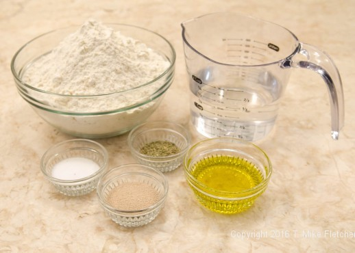 Ingredients for Stuffed Focaccia