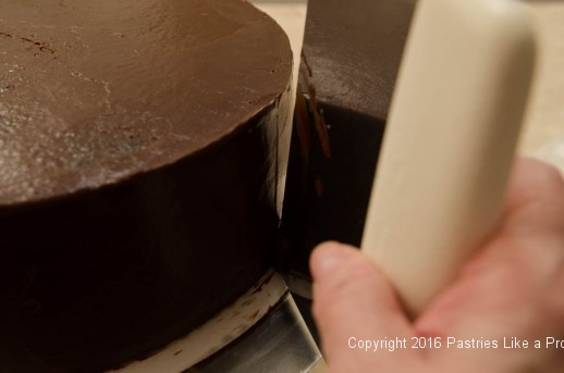 Smoothing top of cake for Why, When and How to Undercoat a Cake