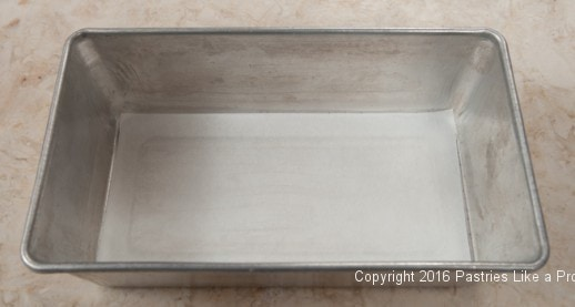 9x5 pan for the Chocolate Raspberry Gateau