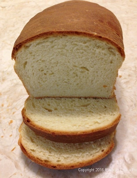 Sliced Bread made with the Breville mixer