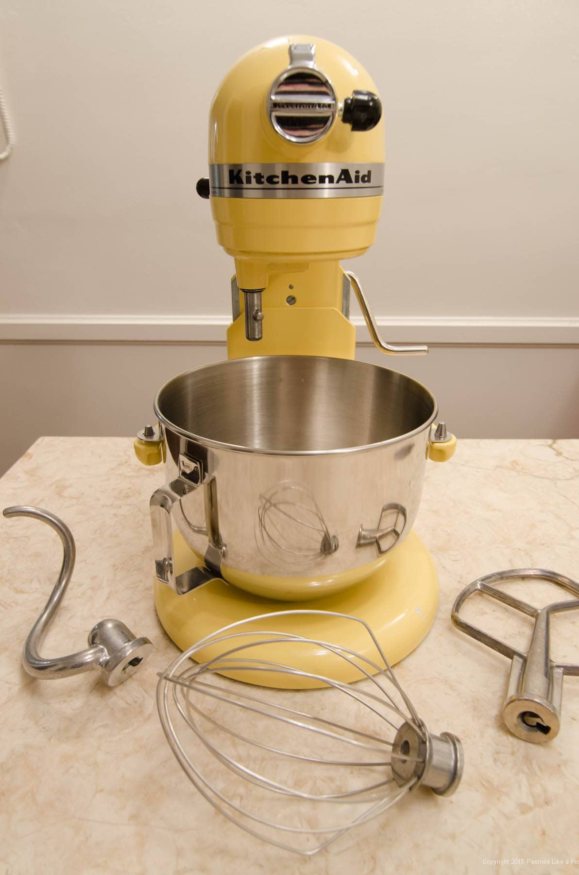 Breville Mixer vs KitchenAid Mixer  Pastries Like a Pro -> Kitchenaid Yellow