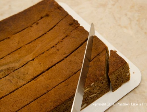 Cutting on the diagonal for the Honey Diamonds