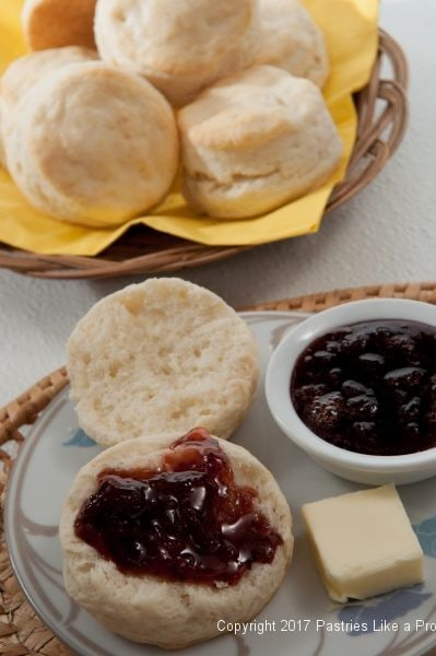 Cream Biscuits with Strawberry Balsamic Jam for Five Make Ahead Breads for Easter