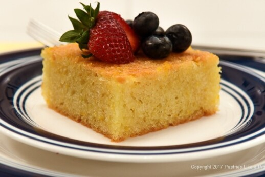 Greek Orange Yogurt Cake