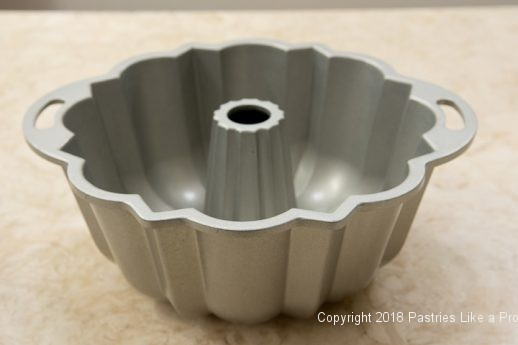 Bundt Pan for the Chocolate Spiced Coffee Cake