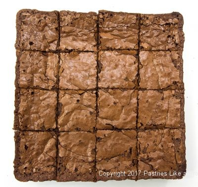 Cocoa Brownies cut 16 for Cocoa Brownies
