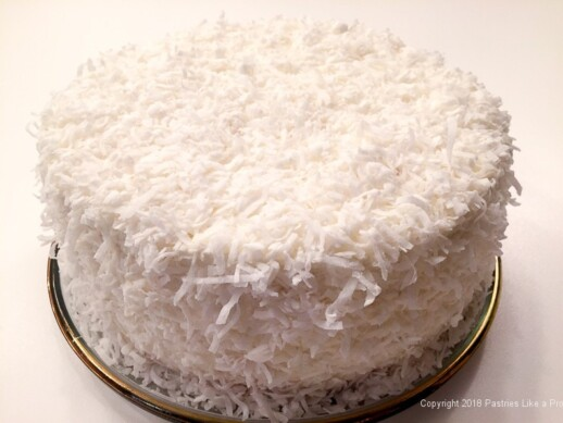 Chocolate Coconut Cream Cake