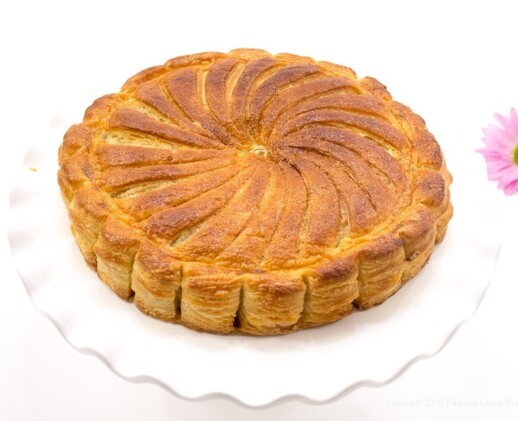 Pithiviers made with Blitz Puff Pastry