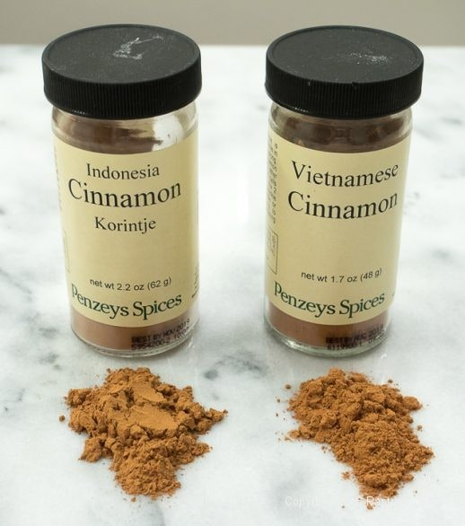 Two cinnamons for the World of Cinnamon