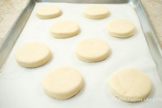Cut out on tray for Marvelous Variable Kolache