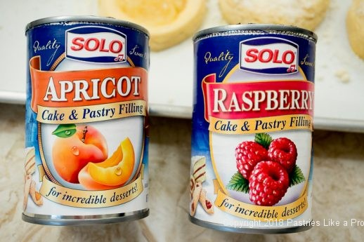 Cans of Solo filling for Marvelous Variable Kolache