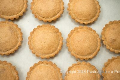 Baked Brown Butter Tarts