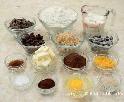 Ingredients, Homemade Bread, Chocolate Orange Raisin Bread