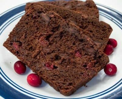 Chocolate Cranberry Quick Bread
