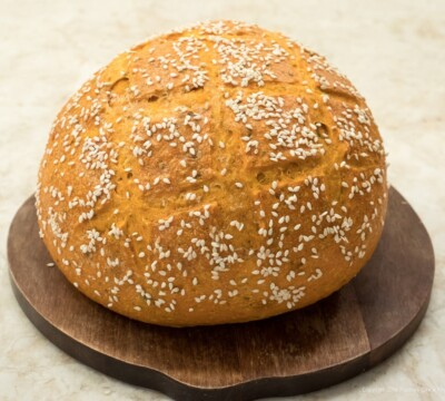 Red Pepper Bread for Bread and Soup