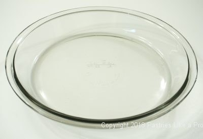 Glass pie plate for Baking Pans