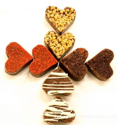 Fudge Hearts for Valentine's Candy