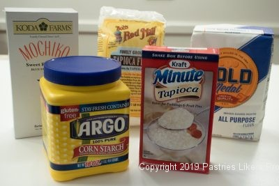 Thickeners as used in Baking and Pastry