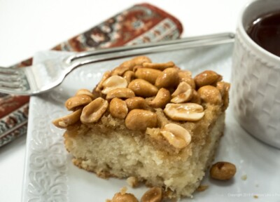 Honey Peanut Coffeecake
