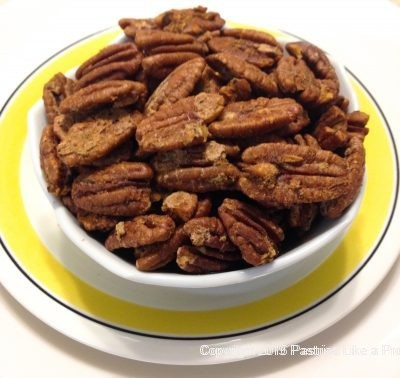 Hot Peppered Pecans