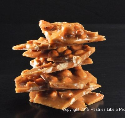 Macadamia Brittle for Holiday Food Gifts