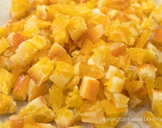 Candied Orange diced